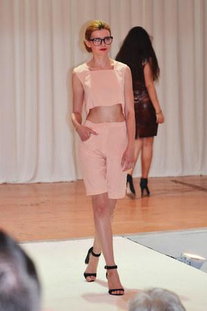 light pink Kristia Lazarie shorts
