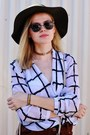 Ivory-bazzr-shirt-black-urban-owl-sunglasses-black-kristia-lazarie-bracelet