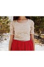 Cream-lace-maurices-top-ruby-red-handmade-vintage-dress