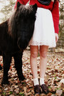 Ruby-red-lands-end-sweater-white-forever-21-dress-charcoal-gray-target-scarf