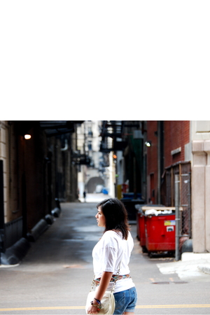 Forever21 belt - Forever21 shirt - Forever21 shorts - H&M purse - Lucky Brand br