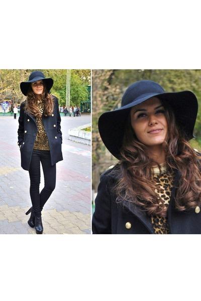 H&M hat - Zara sweater