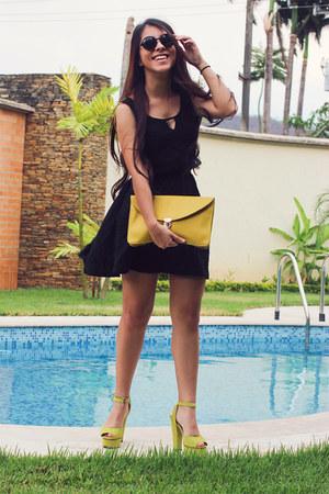 PacSun dress - Exotik bag - Aishop heels