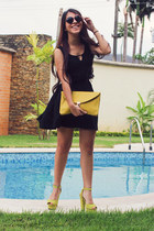 PacSun dress - Exotik bag - Aishop heels