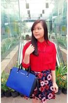 retro flower PERSUNMALL skirt