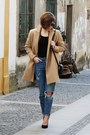 Camel-stradivarius-coat-blue-pull-bear-jeans