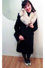 Montreal-fur-scarf-le-chateauateau-coat-vintage-purse-browns-heels