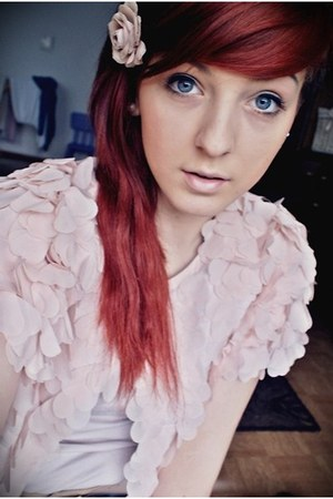 light pink cropp jacket