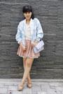 Light-blue-choies-jacket-periwinkle-asos-bag-off-white-milanoo-top