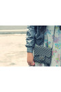 Charcoal-gray-zara-jacket-heather-gray-floral-skater-topshop-dress