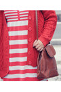 Red-stripes-knit-topshop-dress-brown-asos-boots