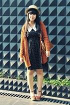 tawny milanoo bag - black heart print Vero Moda dress