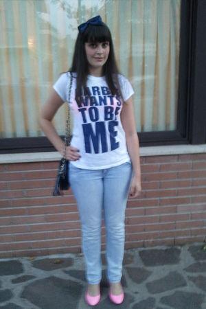 B&M t-shirt - Cool Cat jeans - H&M shoes - B&M accessories