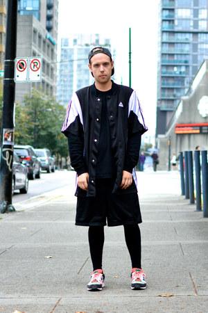 American Apparel hat - Adidas shirt - vintage shorts - Adidas sneakers