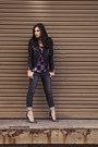 Charcoal-gray-james-jeans-jeans-black-biker-jacket-h-m-jacket