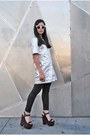 Silver-topshop-dress-white-leather-topshop-coat