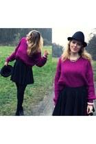 magenta Choies sweater