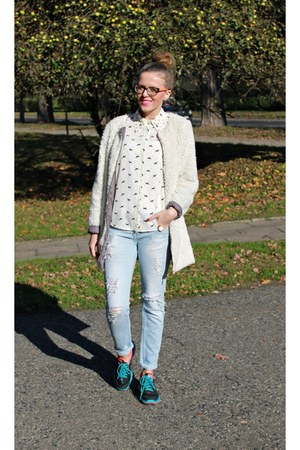 white Secondhand jacket