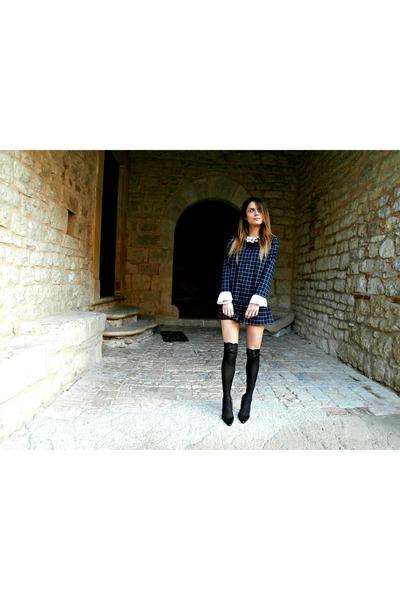 Oasapcom dress - Jessica Buurman heels - Romwecom accessories - OMERO tie