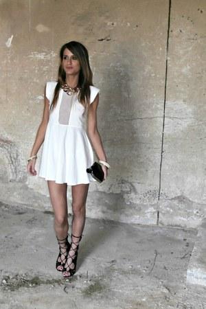 romwe dress - Krizia bag - OASAP accessories - Jessica Buurman sandals