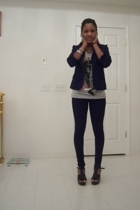 blazer - shirt - Kill City pants - Classified shoes