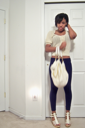 Sample piece sweater - leggings - Classified shoes - babyphat purse