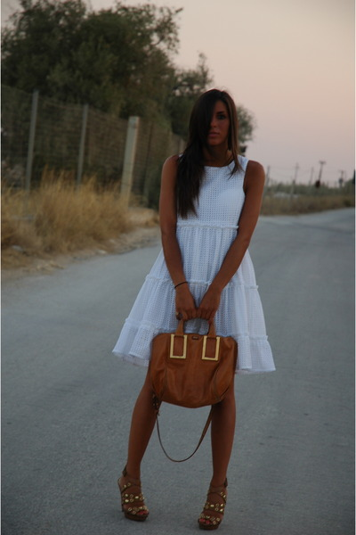 Chloe dress - Chloe bag - H&M heels
