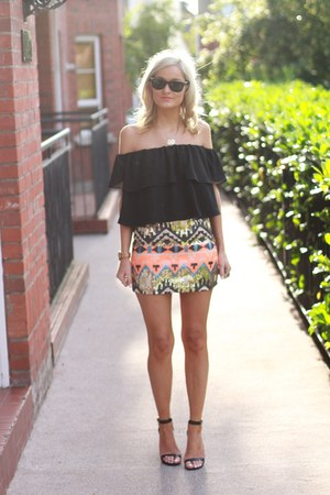 Primark skirt - Topshop top