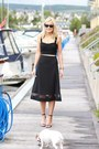 Black-full-midi-skirt-skirt-black-crop-top-top