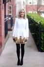 White-dress-sheinsidecom-dress