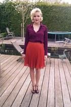 V&D skirt - Primark blouse