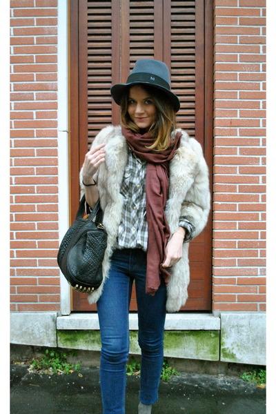 fur coat vintage coat