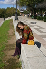 Purple-marypaz-boots-red-vintage-sweater-gold-stradivarius-accessories