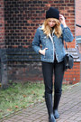 Black-labotti-boots-black-h-m-jeans-navy-second-hand-jacket-black-zara-bag