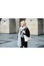 Black-taly-weijl-coat-black-h-m-jeans-heather-gray-bik-bok-sweater