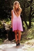 H&M dress - Manzannan bag - H&M wedges
