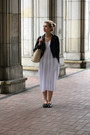 Black-zara-shoes-white-dresslink-dress-black-h-m-jacket