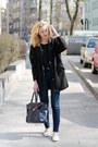 White-zara-shoes-black-tally-weijl-coat-navy-h-m-jeans-navy-etorebkapl-bag