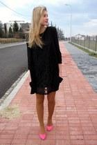 H&M heels - Vero Moda dress - H&M cardigan