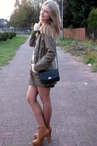 Tally Weijl bag - allegro shoes - Vila jacket