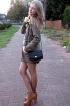 Tally Weijl bag - allegro shoes - Vila jacket