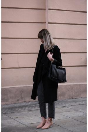 light pink Zara boots