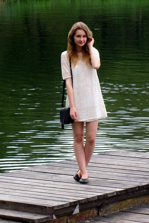 H&M dress - Glitter bag