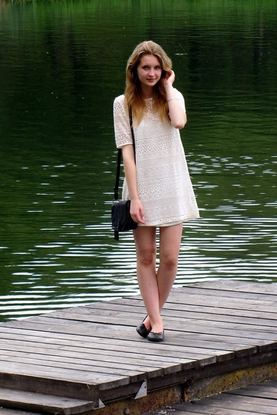 H&M dress - Glitter bag
