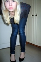 seconhand shirt - H&M jeans - Seppl shoes