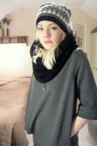 scarf - lindex blazer - hat