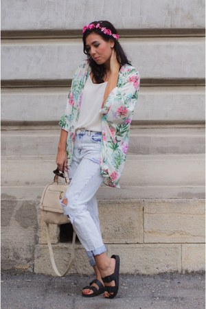 Zara jeans - H&M flats