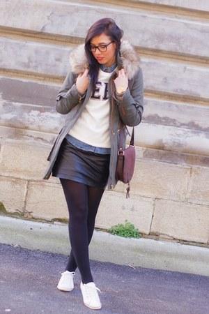 Zara coat - Zara hoodie
