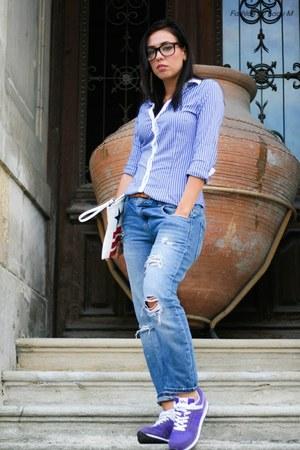 Zara shirt - Deichmann sneakers