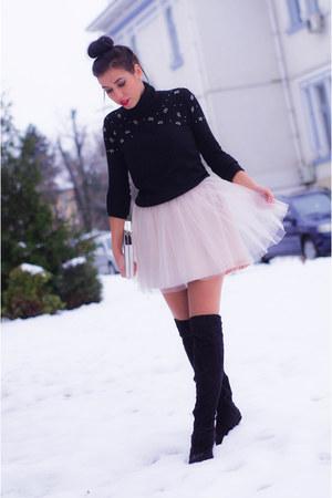 cashmere Zara blouse - black Zara blouse
